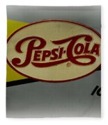 Vintage Pepsi Fleece Blanket