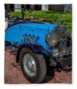 Vintage Peugeot 201 Fleece Blanket