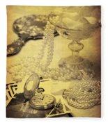 Vintage Photographs Fleece Blanket