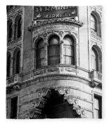 Vintage Reading Terminal Market - Philadelphia Fleece Blanket