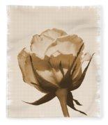 Vintage Rose 2013 Fleece Blanket