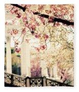 Grecian Garden Fleece Blanket