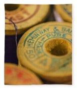 Vintage Thread Fleece Blanket