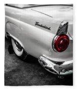 Vintage Ford Thunderbird Fleece Blanket