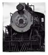 Vintage Train 90 Fleece Blanket