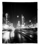 Vintage Vancouver 1951 Fleece Blanket