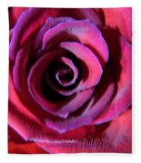 Violet Tinge Fleece Blanket