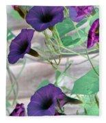 Violet Vine - Photopower 326 Fleece Blanket