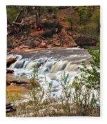 Virgin Falls Fleece Blanket