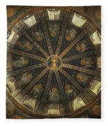 Virgin Mary Cupola Fleece Blanket