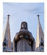 Virgin Mary Fleece Blanket