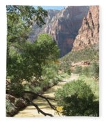 Virgin River Zion Valley Fleece Blanket
