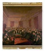 Virginia Convention 1829 Fleece Blanket