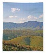 Virginia Mountains  Fleece Blanket