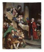 Virginia: Patrick Henry, 1765 Fleece Blanket