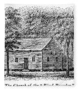Virginia Rural Church Fleece Blanket