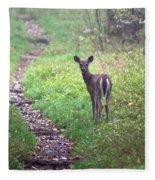 Virginia - Shenandoah National Park - White Tailed Deer Fleece Blanket