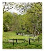 Virginia Spring Fleece Blanket