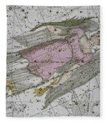 Virgo From A Celestial Atlas Fleece Blanket