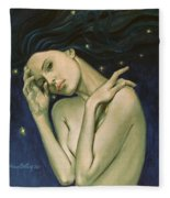 Virgo  From Zodiac Series Fleece Blanket