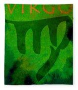 Virgo Fleece Blanket