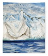 Vision Of Mountain Fleece Blanket