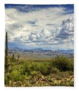 Visions Of Arizona  Fleece Blanket