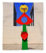 Visions Of Miro Fleece Blanket