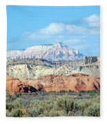 Visions Of Utah Fleece Blanket