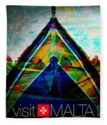 Visit Malta Fleece Blanket