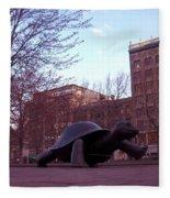 Visitors - Copley Square Fleece Blanket