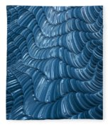 Visual Cortex Fleece Blanket