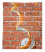 Vitamin C Wall Fleece Blanket