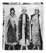 Vladimir I (956?-1015) Fleece Blanket