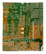 Vo96 Circuit 3 Fleece Blanket