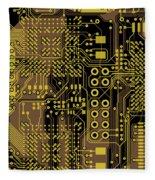 Vo96 Circuit 5 Fleece Blanket