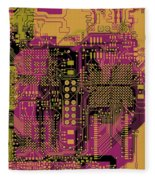 Vo96 Circuit 8 Fleece Blanket