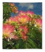 Voluntary Mimosa Tree Fleece Blanket