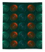 Vortices Fleece Blanket