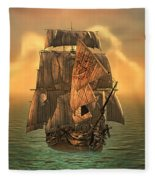 The Voyage Of The Dawn Treader Fleece Blanket