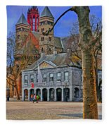 Vrijthof Square Fleece Blanket