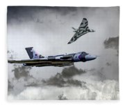 Vulcan Wingman Fleece Blanket
