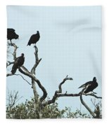 Vulture Club Fleece Blanket