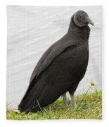 Vulture Fleece Blanket