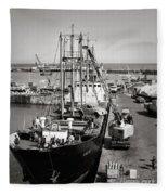 Vw Beetle, Ramsgate - 1960's    Ref-506 Fleece Blanket