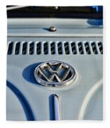 Vw Volkswagen Bug Beetle Fleece Blanket
