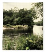 Waccamaw River Fleece Blanket