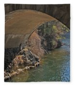Wachusett Reservoir Spillway 3 Fleece Blanket