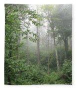 Waft Of Mist - Shenandoah Park Fleece Blanket