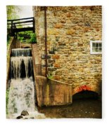 Wagner Grist Mill Fleece Blanket
